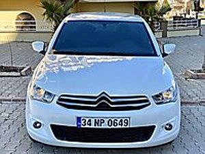KARAELMAS AUTO DAN 1.6 HDİ COMFORT BAKIMLI C-ELYSEE FIRSATI Citroën C-Elysée 1.6 HDi  Confort
