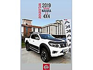 AKKAYA OTOMOTİVDEN 2019 4X4 9900 KMDE SIFIR GİBİ Nissan Navara 2.3 DCI 4x4