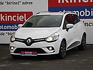 2018 MODEL RENAULT CLİO SPORT TOURER 1.5 DCI TOUCH EDC 75.204KM Renault Clio 1.5 dCi SportTourer Touch