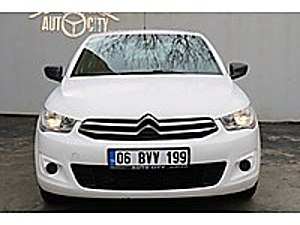 TAMAMINA KREDİ İMKANI AUTO CITY DEN Citroën C-Elysée 1.6 HDi  Attraction