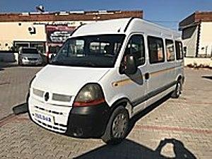 2005 MODEL RENAULT MASTER 14 1 MİNİBÜS KLİMALI OTOMATİK KAPILI Renault Master 14 1
