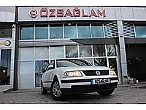 Özsağlam dan 1997 VW Passat 1.8 Comfort 380binde LPG li Beyaz Volkswagen Passat 1.8 Comfortline