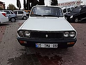 1991 MODEL YAŞINA GÖRE GÜZEL.. Renault R 12 Toros