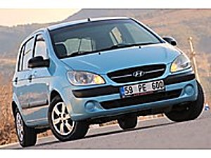 ASK OTOMOTİV  DEN TERTEMİZ ÇOK GÜZEL 1.5 CRDİ 90 HP 16 VALF Hyundai Getz 1.5 CRDi VGT Start