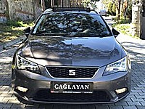 -ÇAĞLAYAN OTOMOTİV- 2016 SEAT LEON 1.6 TDI ST STYLE DSG BOYASIZ Seat Leon 1.6 TDI ST Style