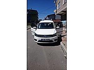 62 Binde Tertemiz Aile Aracı Volkswagen Caddy 2.0 TDI Trendline