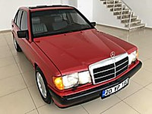 1986 MODEL MERCEDES 190 D KLİMA SUNROOF ÖN VE ARKA KOLTUK ISITMA Mercedes - Benz 190 190 D 2.0