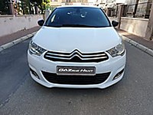 GAZELLE YETKİLİ BAYİİDEN 16.000 TL PEŞİNATLA 2013 CİTRÖEN C4 Citroën C4 1.6 HDi Confort Plus