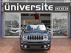 ÜNİVERSİTE  HATASIZ SIFIR AYARINDA 2020 JEEP  OTOMATİK  LİMİTED. Jeep Renegade 1.6 Multijet Limited