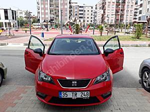 2014 MODEL 72.500 KM DE KIRMIZI SEAT İBIZA 1.4 REFERANCE