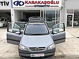 Karakaşoğlu Otomotivden 2003 Opel Zafira 7 Kişilik Elegance Pak. Opel Zafira 1.6 Elegance