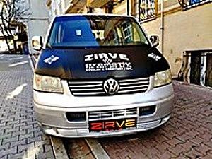 TRANSPORTER 2007 MODEL 2.5 CİTYVAN Volkswagen Transporter 2.5 TDI Camlı Van