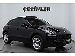 ÇETİNLER DEN 2017 MODEL PORSCHE MACAN 2 0İ 237 HP BAYİ ÇIKIŞLI Porsche Macan 2.0