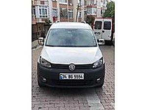 2011 VOLKSWAGEN CADDY 1.6 PANELVAN MAXİ MUAYENE YENİ ORJİNAL Volkswagen Caddy 1.6 TDI Maxi Van