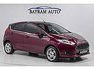 -BAYRAM AUTO-2014 FORD FİESTA TİTANİUM 1.6 POWERSHİFT  BOYASIZ   Ford Fiesta 1.6 Titanium