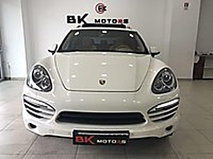 BK MOTORs 2012 PORSCHE CAYANNE VERGİ BARIŞLI BOYASIZ TRAMERSIZ Porsche Cayenne 3.0 Diesel