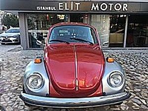 ist.ELİT MOTOR dan KLASİK 1974 MODEL VOLKSWAGEN 1303 VW Volkswagen Beetle 1.3