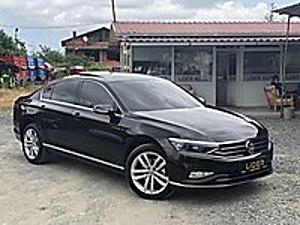 LİDER-AUTO 2019 VW PASSAT 1.6 TDİ BMT ELEGANCE BOYASIZ 13.000KM Volkswagen Passat 1.6 TDI BlueMotion Elegance