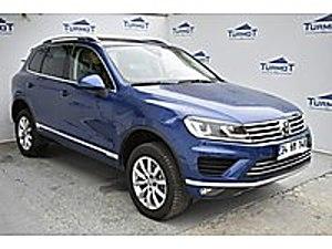 3 AY ERTELEME  13.900 PEŞİNATLA  DEĞİŞENSİZ  2017 DOĞUŞ ÇIKIŞLI Volkswagen Touareg 3.0 TDI Premium