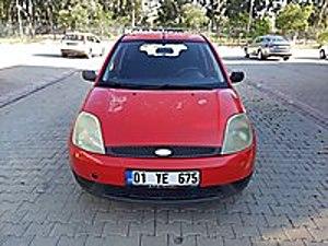 2004 FORD FİESTA 1.4 TDCİ ÇOK TEMİZ KIRMIZI BONCUK Ford Fiesta 1.4 TDCi Comfort