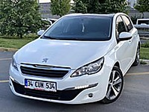 AUTO HAYAL 2015 308 1.6 BLUEHDİ EAT 6 ALLURE CAM TAVAN FULL FULL Peugeot 308 1.6 BlueHDi Allure