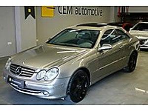 CEMautomotive-HATASIZ-2003 MERCEDES CLK 200K OTM-174.000 KM Mercedes - Benz CLK CLK 200 Komp. Avantgarde