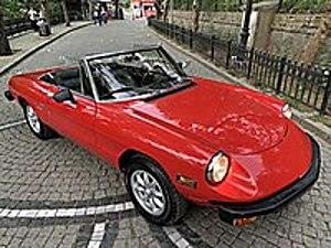 1982 ALFA ROMEO SPİDER VELOCE CABRİO KLASİK TRDE TEK Alfa Romeo Alfa Romeo Spider