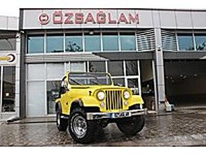 Özsağlam dan 1979 Model Sarı Renk CJ-5 4x4 TR de TEK Sorunsuz Jeep Jeep CJ-5
