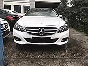 ÖZYOLU TİCARETTEN HURDA BELGELİ 2016 MODEL E180 EDİTİON E Mercedes - Benz E