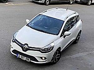KAYZEN DEN 2018 CLİO SPORTTOURER OTOMATİK BOYASIZ EMSALSİZ... Renault Clio 1.5 dCi SportTourer Touch