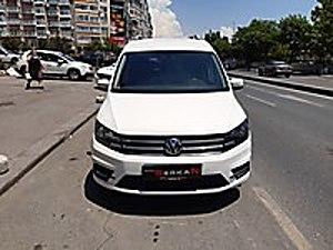 AUTO SERKAN 2016 CADDY 2.0 TDI OTOMATİK CAMLIVAN Volkswagen Caddy 2.0 TDI Trendline