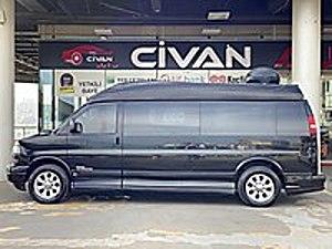 CİVAN 2006 GMC SAVANA V8 DİZEL TABA-VİP-DUVAR-TELEVİZYON-SİYAH GMC Savana 6.6 V8 Diesel