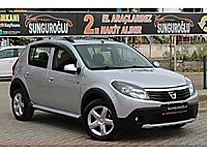 SUNGUROGLUNDAN 2012 MODEL DACİA SANDERO STEPWAY İLK SAHİNDEN Dacia Sandero 1.5 dCi Stepway