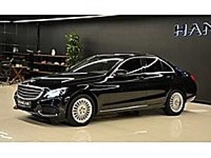 HANCAR MOTORS -EXCLUSİVE-CAM TAVAN-AHŞAP-ISITMA-TOUCHPAD-HATASIZ Mercedes - Benz C Serisi C 200 d BlueTEC Exclusive