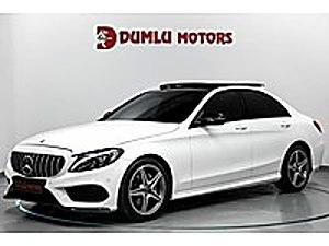 DUMLU MOTORS 2018 C200D AMG-9G TRONİC HATASIZ BOYASIZ CEK SENET Mercedes - Benz C Serisi C 200 D AMG