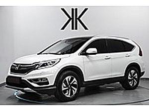 K I R M I Z I 2017 CR-V 4 4 EXECUTIVE HAFIZA ELEK.BGJ-CAM TVN Honda CR-V 1.6 i-DTEC Executive