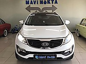 MAVİ NOKTA MOTORS 2012 KİA SPORTAGE PLUS OTOMATİK AWD CAM TAVAN Kia Sportage 2.0 DSL Plus