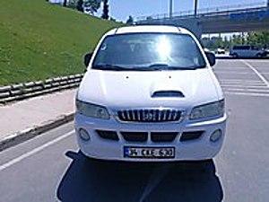 ER AKMAZ DAN 2006 MOD. 2.5 TCI KLİMALI SERVİS BAKIMLI 65 BİN KM  Hyundai Starex Panelvan