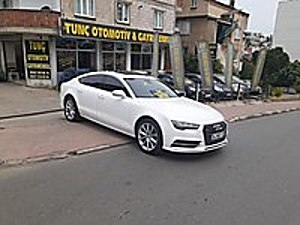 58 TUNÇ OTOMOTİV GAYRİMENKUL 58 AUDİ A7 QUATTRO S LİNE TAKASLI Audi A7 3.0 TDI