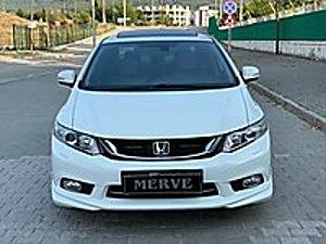 Eco Executive Civic HATASIZ-ORJİNAL-BOYASIZ DERİ DÖŞEME LPG li Honda Civic 1.6i VTEC Eco Executive