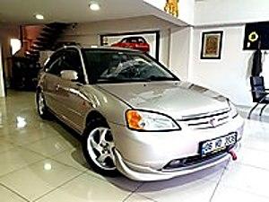 TERTEMİZ HASAR KAYITSIZ HONDA CİVİC MANUEL Honda Civic 1.6 VTEC LS