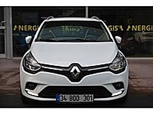 HATASIZ BOYASIZ 33 BİNDE SERVİS BAKIMLI GARANTİLİ NERGİSOTOMOTİV Renault Clio 1.5 dCi SportTourer Touch