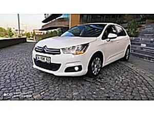 2014 TRAFİĞE ÇIKIŞLI 2013 BAKIMLI MASRAFSIZ CİTROEN C4 COMFORT Citroën C4 1.6 HDi Confort Plus
