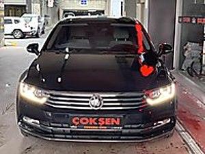ÇOKŞEN-2017 HATASIZ VW PASSAT 1.6TDi COMF. CAMTAVAN R-LINE DSG Volkswagen Passat 1.6 TDI BlueMotion Comfortline