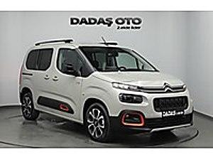 DADAŞ DAN 2019 BERLİNGO  13  BİNDE CAM TAVAN 130 PS XTR G. PAKET Citroën Berlingo 1.5 BlueHDI Shine