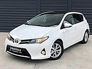 2014 TOYOTA AURİS ADVANCE SKYPACK DİZEL OTOMATİK HATASIZ BOYASIZ Toyota Auris 1.4 D-4D Advance Skypack