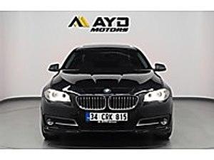 AYD MOTORSDAN 2015 BMW 5.25xDRİVE HAYALET VAKUM E.BAGAJ G.GÖRÜŞ BMW 5 Serisi 525d xDrive  Premium