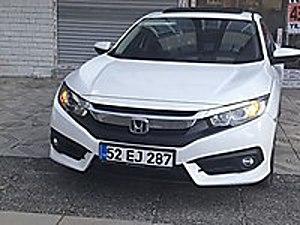 ilk sahibinden full servis bakımlı Honda Civic 1.6i VTEC Eco Elegance
