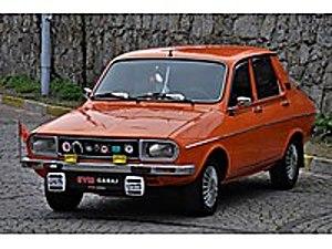 EYM GARAJ-TR de TEK NADİDE KALAN DEĞİŞENSİZ RENAULT R12 TX Renault R 12 TS