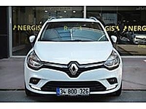 19 BİNDE HATASIZ BOYASIZ GARANTİLİ LED SPORTOURER NERGİSOTOMOTİV Renault Clio 1.5 dCi SportTourer Touch